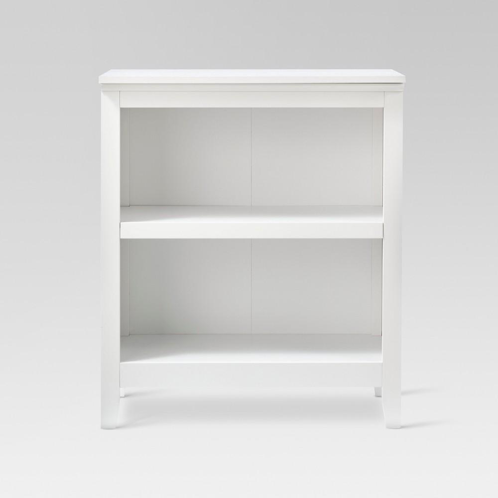 Carson 36 2 Shelf Bookcase - White - Threshold