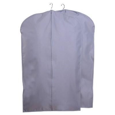 60bfb17435 2pk Suit Protector Garment Bag Gray - Room Essentials™   Target
