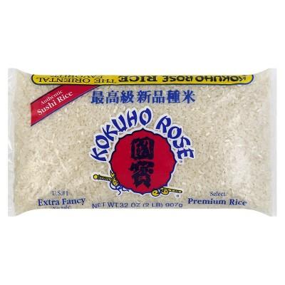 Kokuho Rose Premium Sushi Rice - 32oz