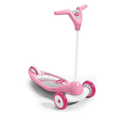 Radio Flyer 539PS My 1st Scooter 3 Wheel Sport Ages 2+ Kid Scooter, Pink Sparkle