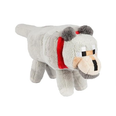 "JINX Inc. Minecraft 15"" Plush Stuffed Animal: Wolf"