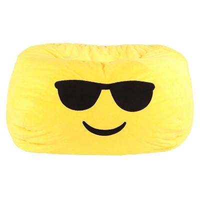 Enjoyable Gomoji Emoji Kids Bean Bag Forskolin Free Trial Chair Design Images Forskolin Free Trialorg