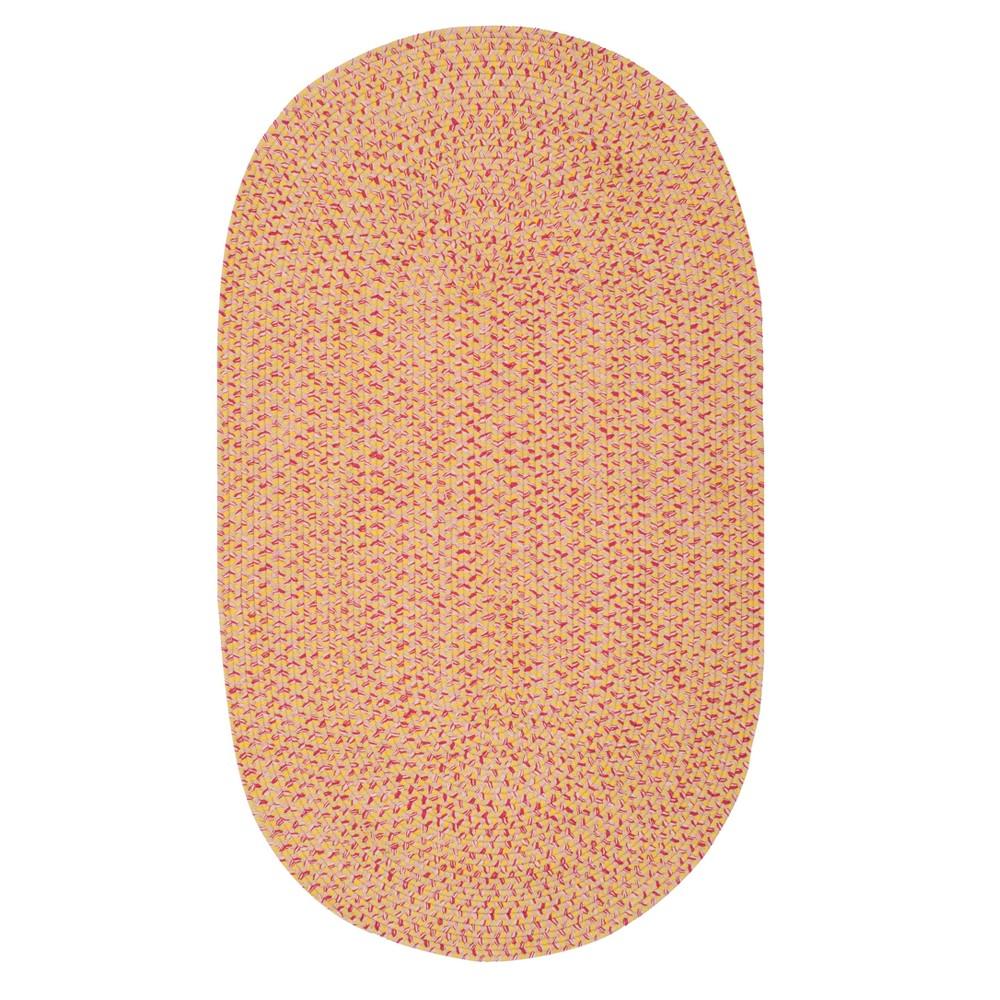 Solid Woven Oval Area Rug 8'X10' - Safavieh, Multi-Colored