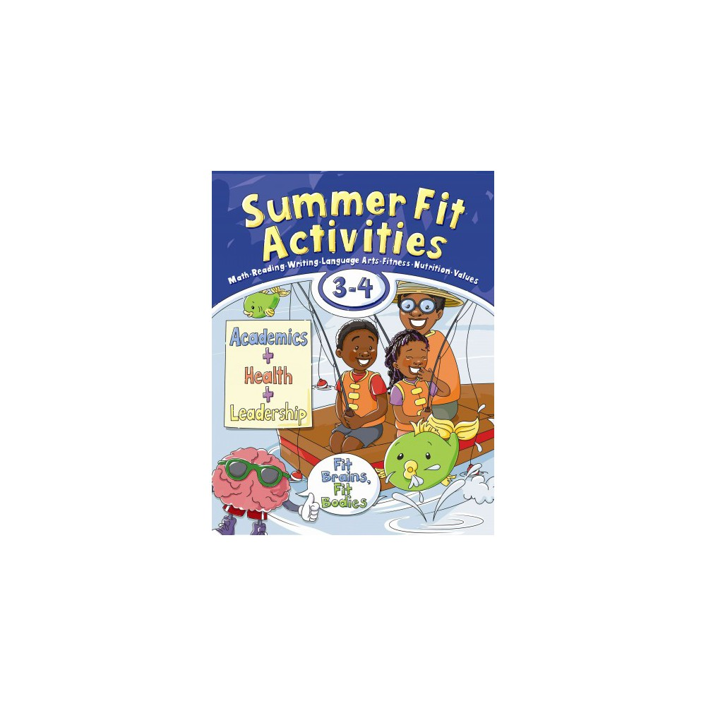 Summer Fit, Third - Fourth Grade (Paperback) (Kelly Terrill)