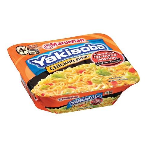 Maruchan Yakisoba Chicken Flavor Noodles 4 oz - image 1 of 3