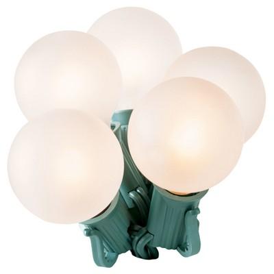 25ct G40 Satin String Lights White - Wondershop™