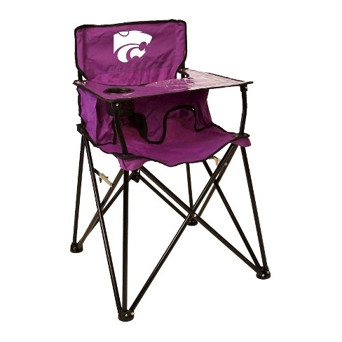 NCAA Kansas State Wildcats Ciao! BabyPortable High Chair - Royal Purple - image 1 of 1
