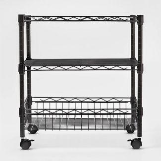 Utility Storage Carts Black - Room Essentials™