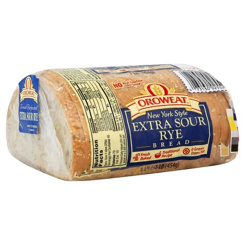 Oroweat New York Style Extra Sour Rye Bread 16 oz - image 1 of 1