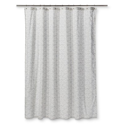 Carefree Shapes Drizzle Shower Curtain Gray - Project 62™