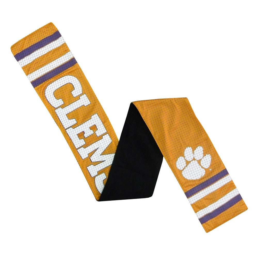 NCAA Clemson Tigers Little Earth Jersey Scarf, Adult Unisex