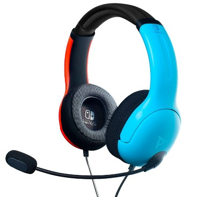 LVL 40 Wired Gaming Headset for Nintendo Switch - Blue/Red