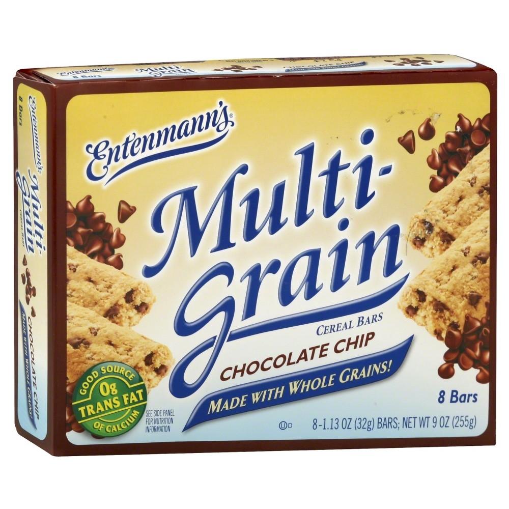 Entenmann's Multi-Grain Chocolate Chip Cereal Bars - 8ct