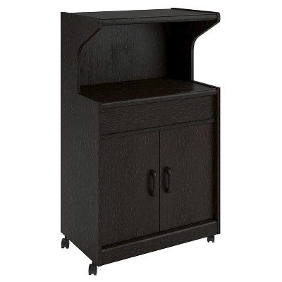 Cumberland Microwave Cart with Shelf - Room & Joy