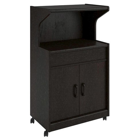 Cumberland Microwave Cart with Shelf - Room & Joy - image 1 of 4