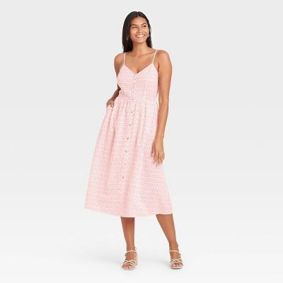 Women's Sleeveless Button-Front Dress - A New Day™
