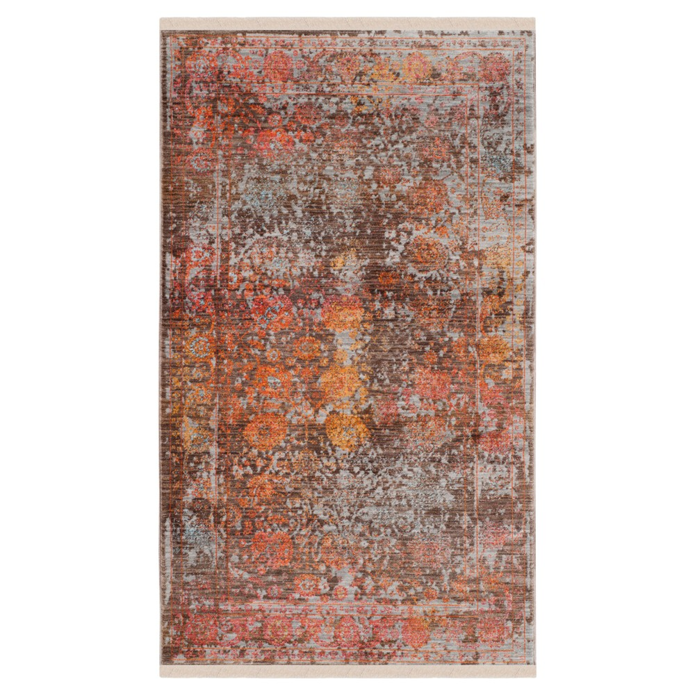 Vintage Persian Rug - Brown/Multi - (3'X5') - Safavieh