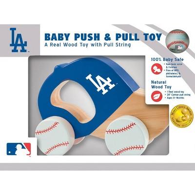 MLB MLB Los Angeles Dodgers Push Pull Baby Toy