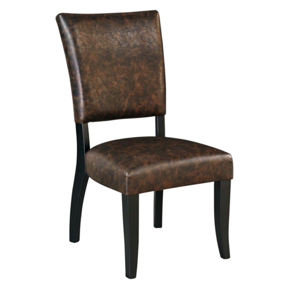 Set of 2 Sommerford Dining Upholstered Side Chair Brown - Signature Design by Ashley