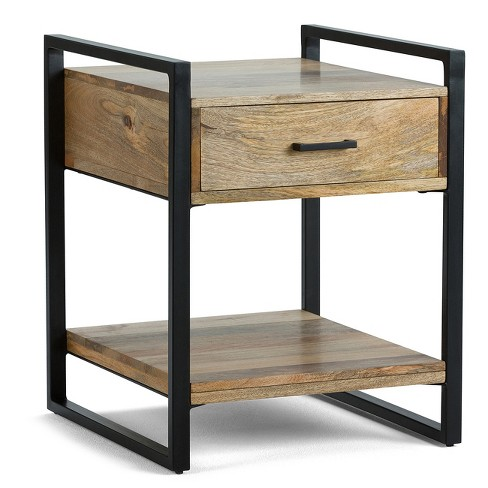 Riverside End Side Table - Natural - Simpli Home - image 1 of 7