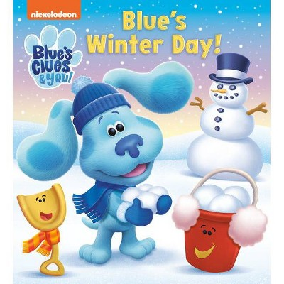Blue's Winter Day! (Blue's Clue & You) - (Board Book)