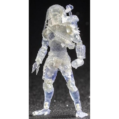Jungle Hunter Predator Invisible Version PX Previews Exclusive 1:18 Scale   The Predator   Hiya Toys Action figures