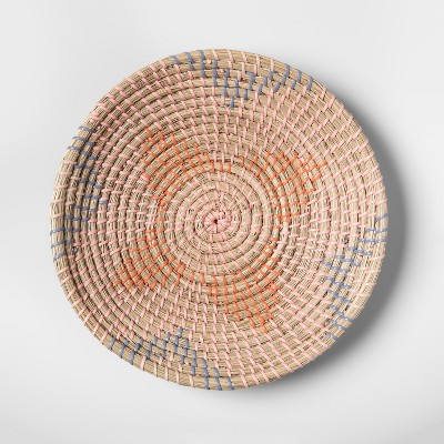 Seagrass Woven Serving Bowl Pink - Opalhouse™