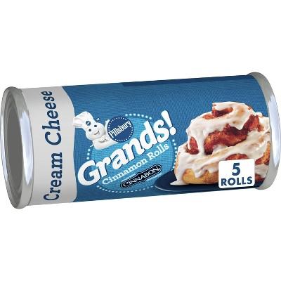 Pillsbury Grands! Cinnamon Rolls with Cream Cheese Icing - 17.5oz/5ct