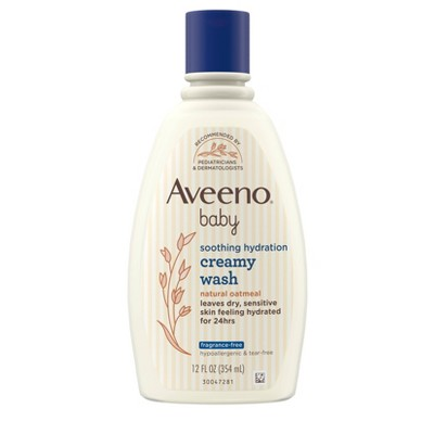 Aveeno Baby Soothing Relief Creamy Wash - 12 fl oz