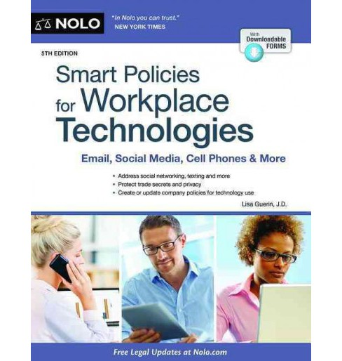 Smart Policies for Workplace Technologies : Email, Social Media, Cell Phones & More (Paperback) (Lisa - image 1 of 1
