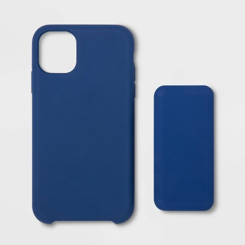 heyday™ Apple iPhone 11 Silicone Case (with 4000mAh Power Bank) - Dark Blue - image 1 of 2