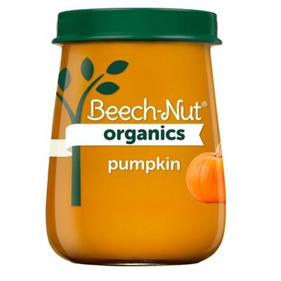 Beech-Nut Organics Pumpkin Baby Food Jar - 4oz