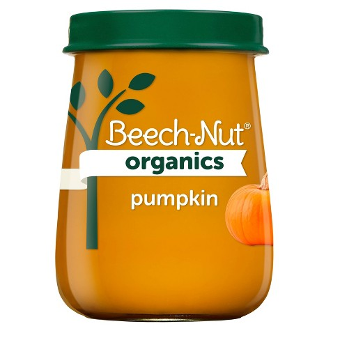 Beech-Nut Organics Pumpkin Baby Food Jar - 4oz - image 1 of 4