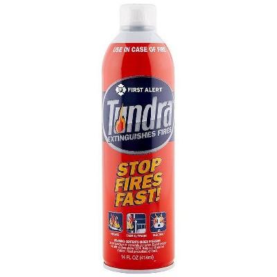 First Alert Tundra Fire Extinguishing Spray