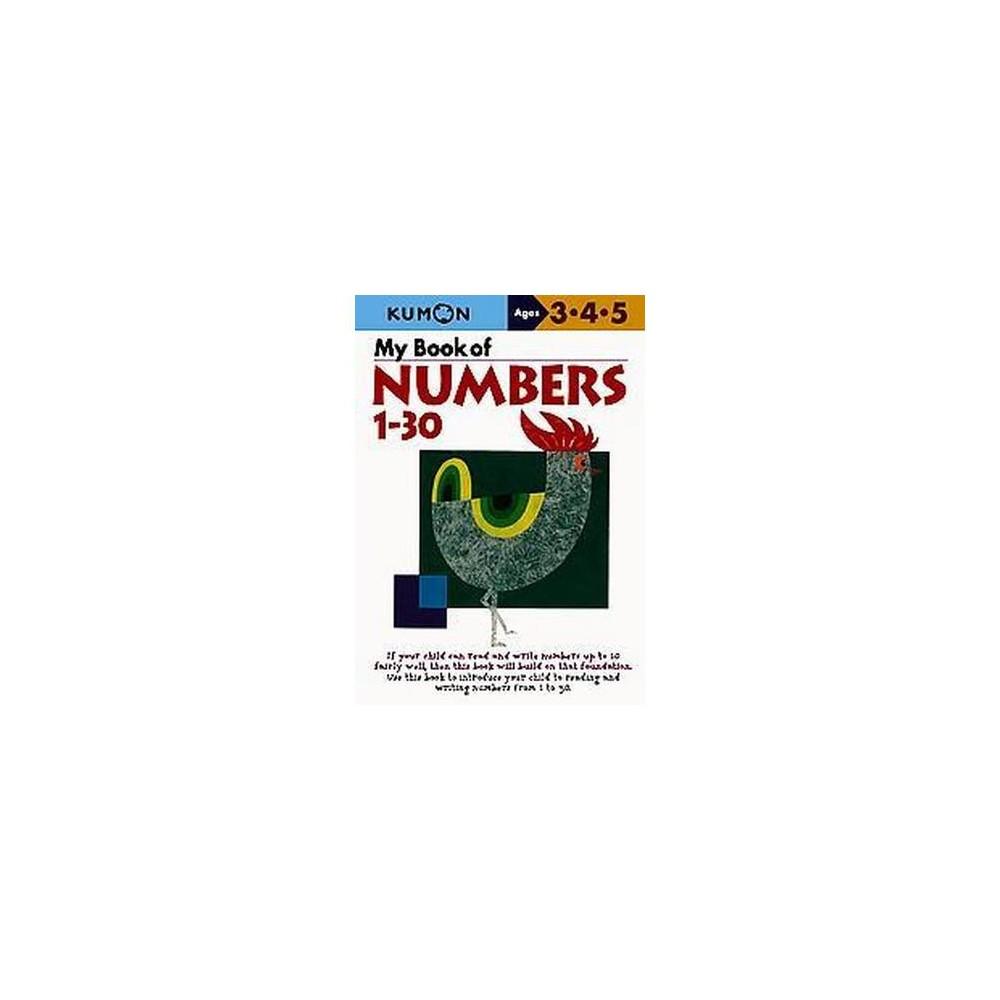 My Book Of Numbers 1-30 (Original) (Paperback)