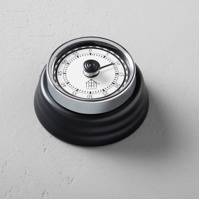 Metal Kitchen Timer - Black - Hearth & Hand™ with Magnolia