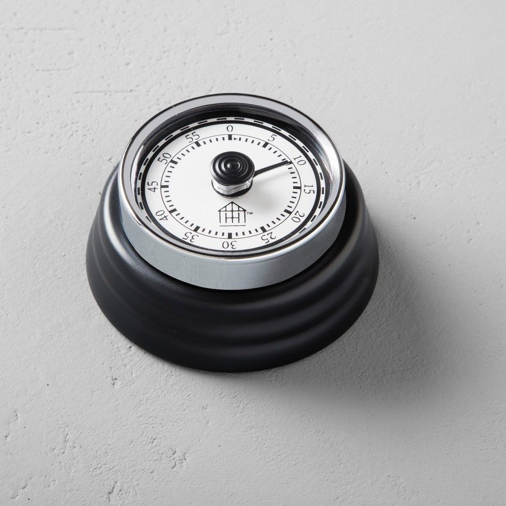 Metal Kitchen Timer - Black - Hearth & Hand with Magnolia