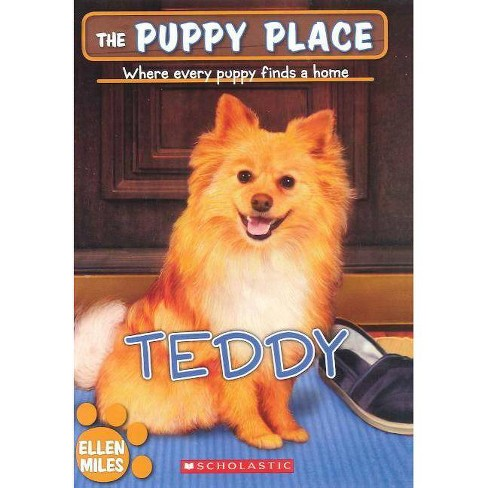 Teddy - (Puppy Place) by  Ellen Miles (Hardcover) - image 1 of 1