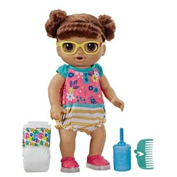 Baby Alive Step 'n Giggle Baby - Brown Hair