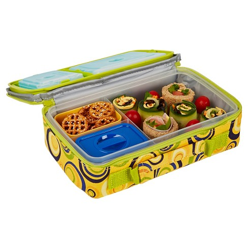 Fit & Fresh Bento Lunch Box Kit with Ice Packs - Sun Swirls - image 1 of 2