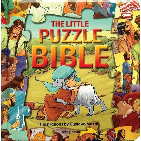 The Little Puzzle Bible - (Puzzle Bible Books) (Board_book) - image 1 of 1