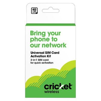 Cricket BYOD SIM Kit