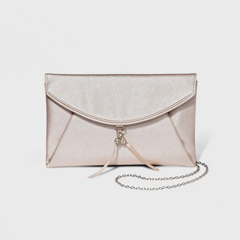 Women's Texture Flap Clutch - Estee & Lilly - image 1 of 3