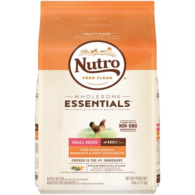 Dog Food: Nutro Wholesome Essentials Adult Small Breed