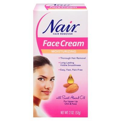 Facial hair removial