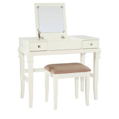 Adler Vanity Set White - Linon