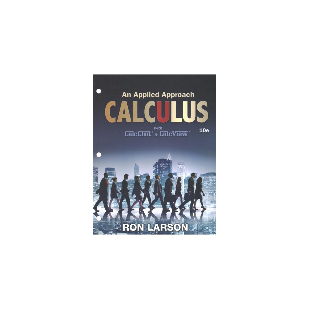 Calculus + Enhanced Webassign Access Card : An Applied Approach with CalcChat & CalcView (Paperback)