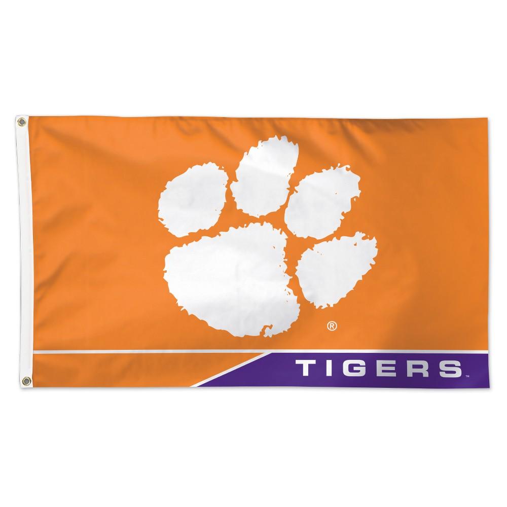 Clemson Tigers Wincraft 3x5' Logo Flag
