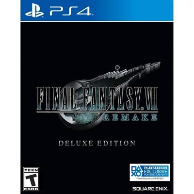 Final Fantasy VII: Remake Deluxe Edition - PlayStation 4