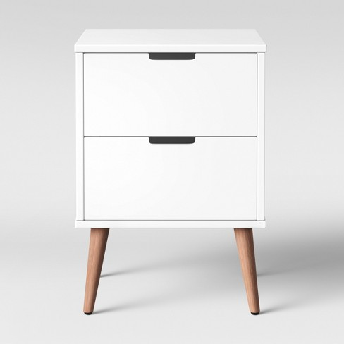 Single Modern Nightstand White Pillowfort Target